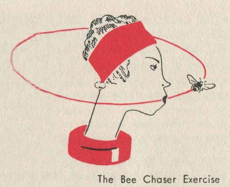 1930s-Beauty-Booklet---Three-One-Minute-Exercises---Bee Chaser