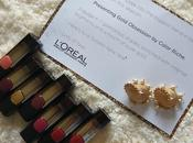 #LorealParis #BoldinGold Lipstick Collection Review Swatches