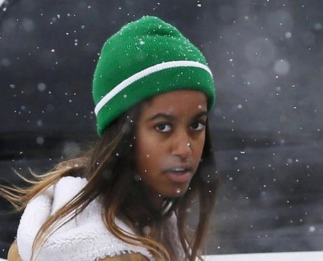 MALIA OBAMA ATTENDED SUNDANCE PROTEST AGAINST DAKOTA ACCESS PIPELINE