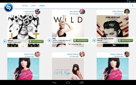 Shazam Encore - screenshot