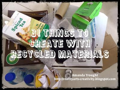 31 creative things to do with recycled materials tea for Things to do with recycled items