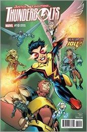 Thunderbolts #10 Cover - Bagley Variant