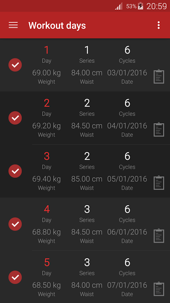 Abs workout PRO- screenshot
