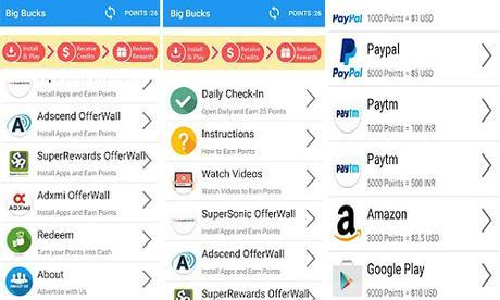 Big Bucks app google