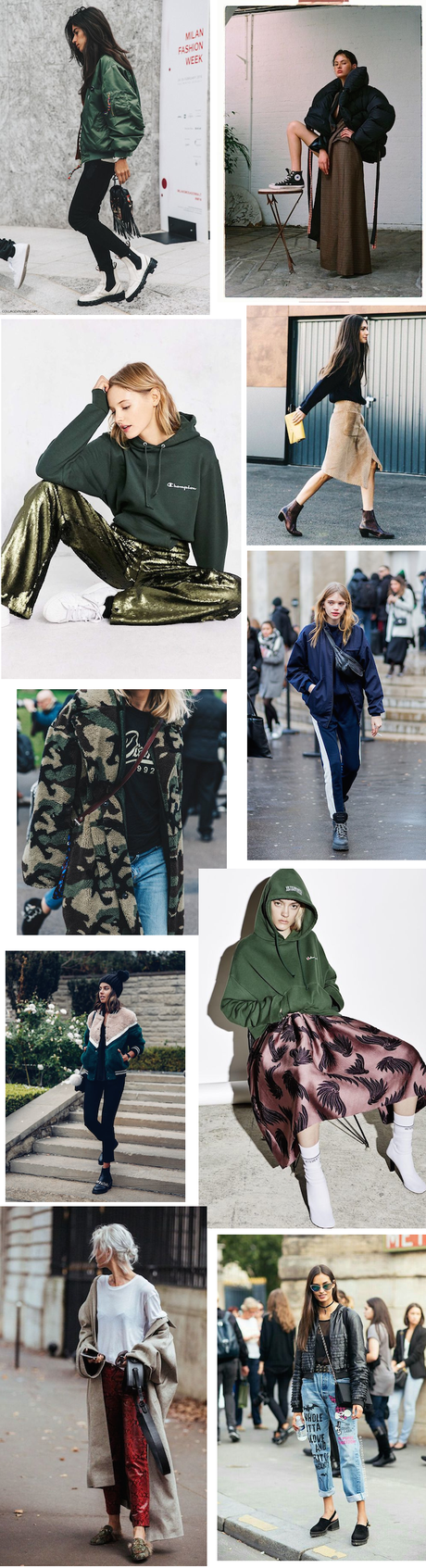 winter outfit street style editorial inspiration what to wear 2016 2017 fall