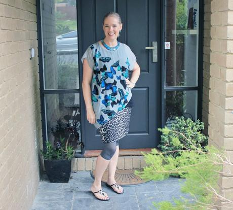 My Summer Style - inside out style blog - butterflies and leopard print