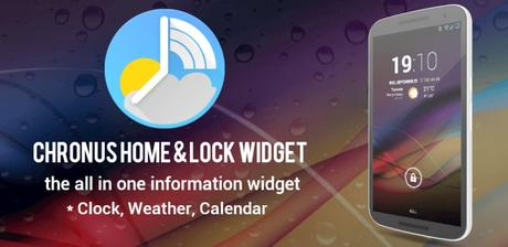 Chronus: Home & Lock Widget v6.0 APK