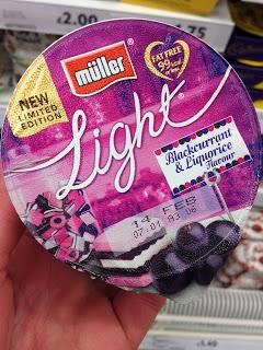 Muller Light Blackcurrant & Liquorice Flavour Limited Edition