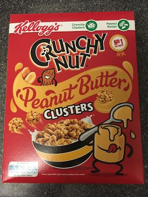 Today's Review: Kellogg's Crunchy Nut Peanut Butter Clusters
