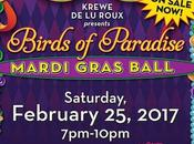 Announcing Birds Paradise Mardi Gras Ball Lulu's Destin, Feb. 25th