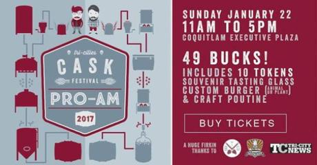 Tri-Cities Cask Festival Winter 2017 Pro-Am – Coquitlam