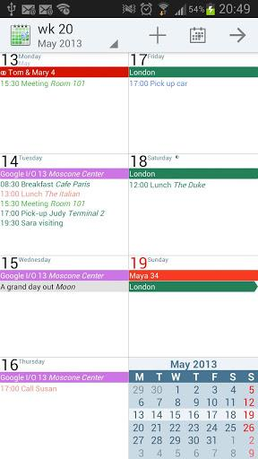 aCalendar+ Calendar & Tasks v1.14.0 APK