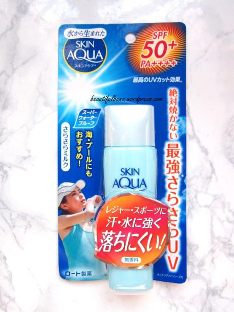 Review: Sunplay Skin Aqua Sarafit UV Milk