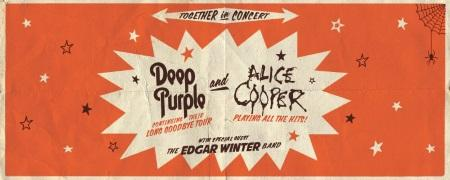 Deep Purple + Alice Cooper w/ special guest The Edgar Winter Band: North American tour