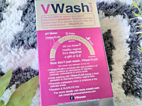Handle THOSE days with Expert Intimate Hygiene with VWASH plus