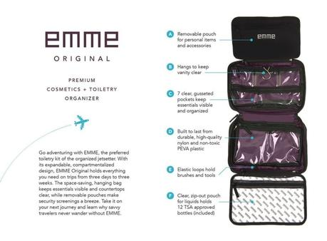 EMME toiletries travel bag