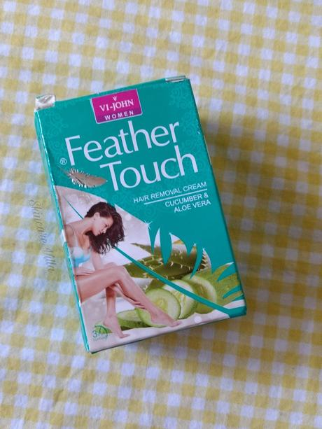 VI John Feather Touch Hair Removal Cream for Women