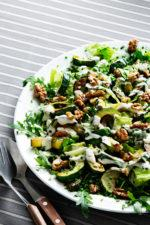 Zucchini and Walnut Salad