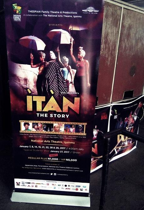 Review // ÌTÀN Stage Play