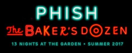Phish Baker's Dozen @ Madison Square Garden in NYC