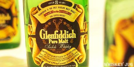 Late 1970s Glenfiddich Label