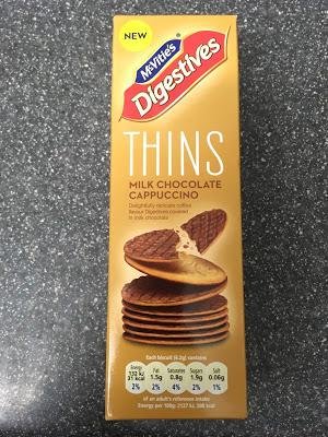 Today's Review: McVitie's Digestives Thins Milk Chocolate Cappuccino