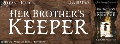 Thriller/Suspense Release Tour: Her Brother's Keeper by J.J. DiBenedetto