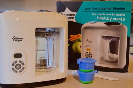 Review: Tommee Tippee Steamer Blender
