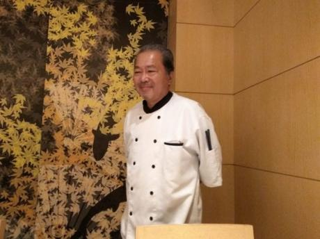 Chef Yuji Okano