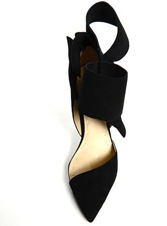Shoe of the Day | Aminah Abdul-Jillil Bow Pumps