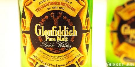 Early 1980s Glenfiddich Label