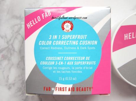 Review: Hello FAB 3 in 1 Superfruit Color Correcting Cushion