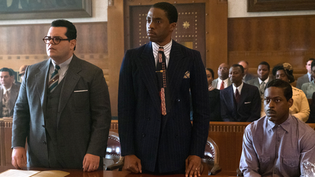 First Look: Chadwick Boseman As Thurgood Marshall