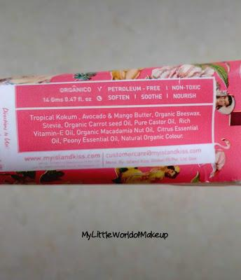 New launch - My Island Kiss Lip Moisturizer Stain in Flamingo Pink & Peonies and Black Rose & Grenade Rouge Review & Swatches