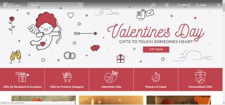 Gifting made easy this Valentine's Day! Courtesy Igp.com