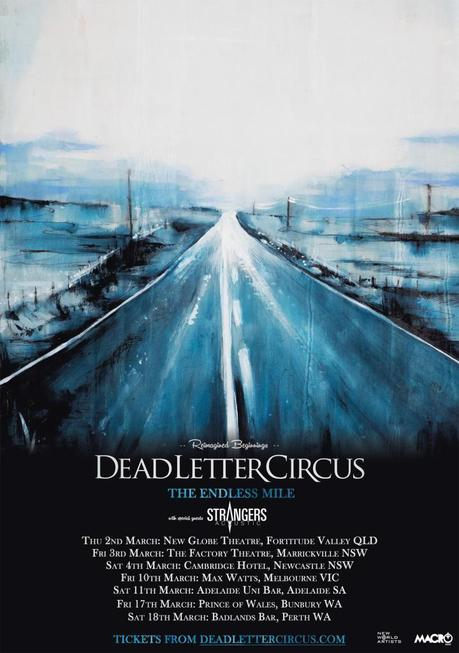 Dead Letter Circus announce Strangers as tour support, update on new music