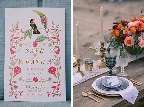 Beautiful boho luxe wedding inspiration