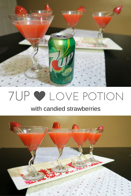 Candied Strawberry Martini