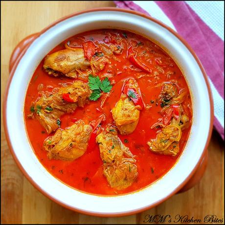 Hungarian Chicken Paprikash...colour my life!!