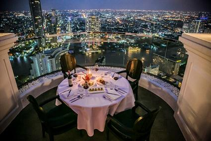 Top 8 Most Romantic Restaurants in Bangkok