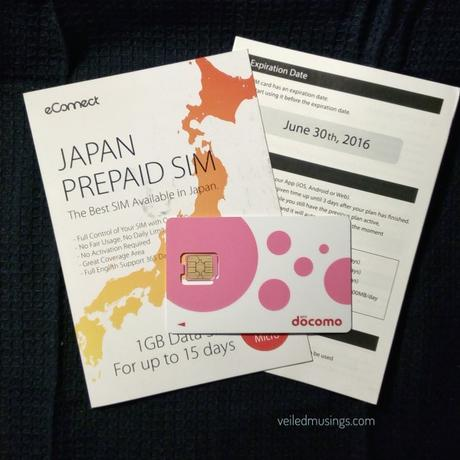 Japan Survival Guide: Mobile Internet (prepaid SIM)