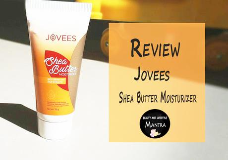 Review // Jovees Shea Butter Moisturizer Rich Cream with Fruit Extracts
