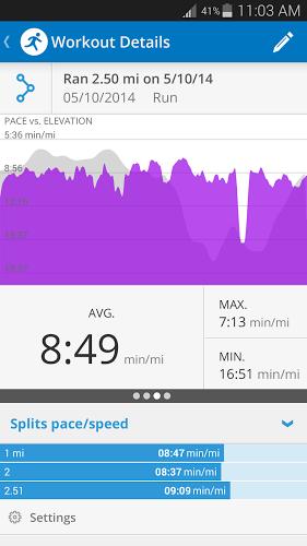 Run with Map My Run + - screenshot