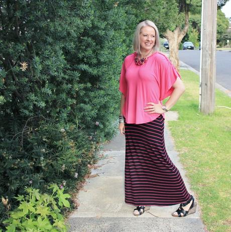 Creating an illusion of broader shoulders - Weekend Style Challenge Tips