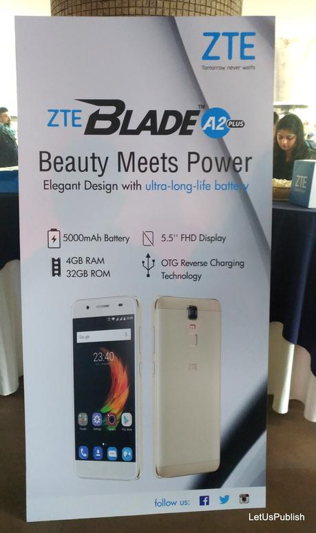 ZTE Blade A2 plus Launched, Read Specifications Here