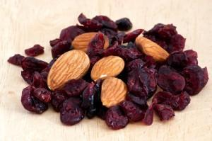 raisins and almonds inline image for paleo snacks