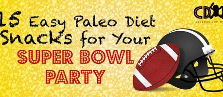 Paleo Snacks Super Bowl Party Cover Image