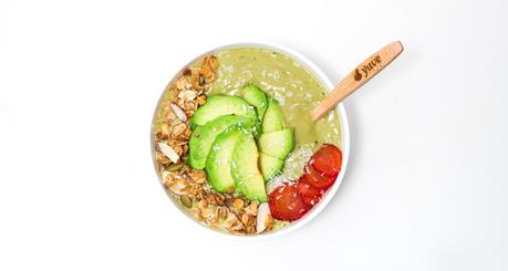 Nutty Matcha Smoothie Bowl