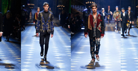 FASHION WEEK: Get the Look Men's FW2017 Dolce & Gabbana