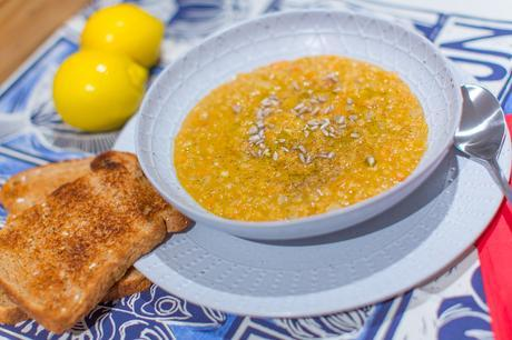 Fitness On Toast Faya Lentil Soup Taste Healthy Workout Recipe Natural Vegetable Protein Idea Diet Health Recipe Nutrition Lighter Home Made